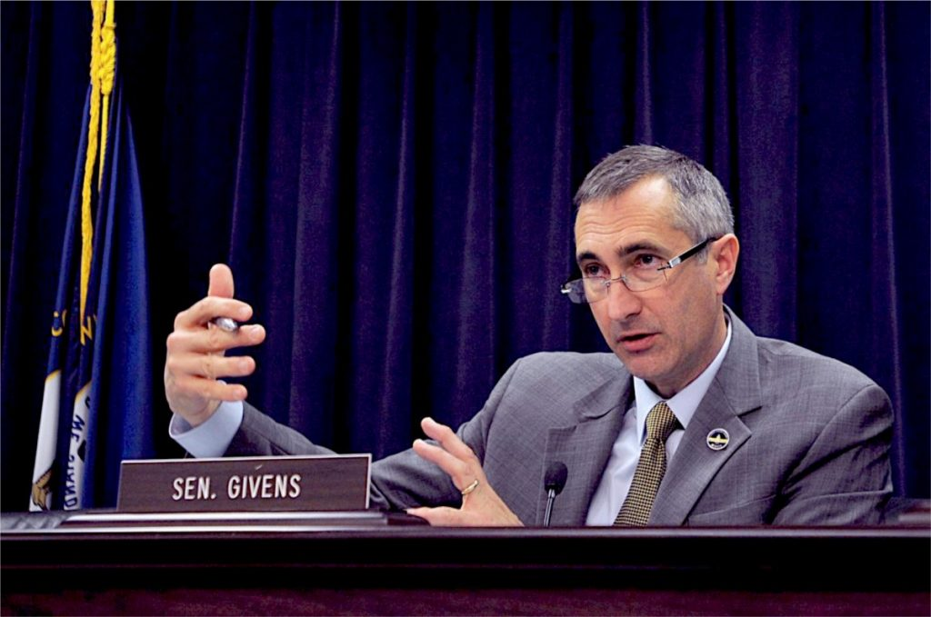 Givens resigns his post.