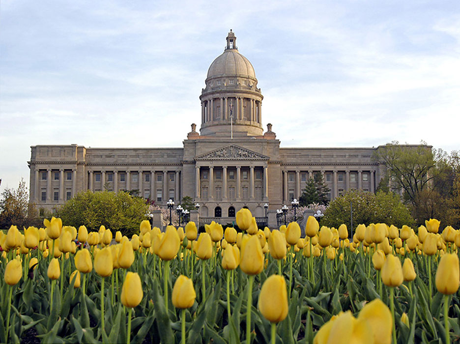 Spring is an especially colorful time to visit the Capitol.