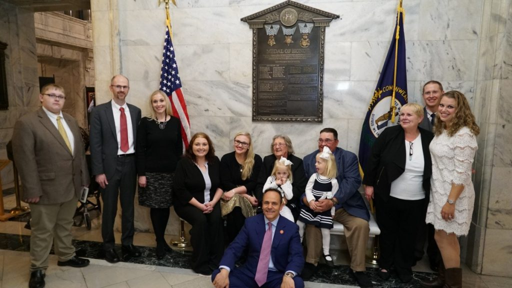 Gov. Bevin and Conner Family