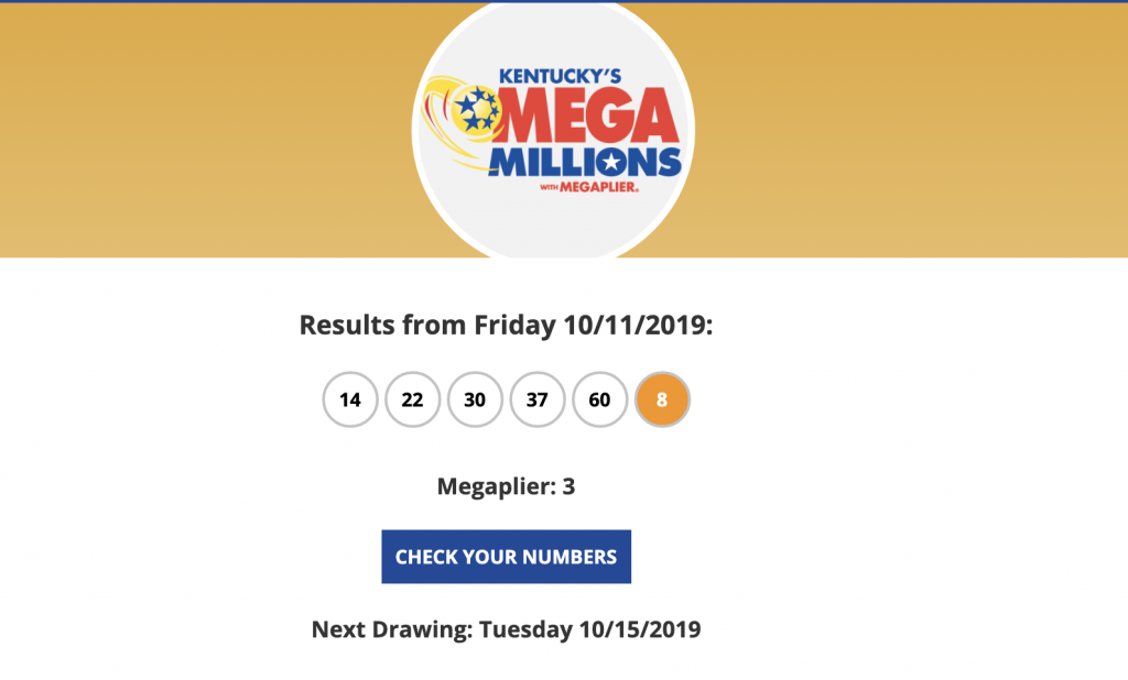 Lottery Winning Ticket Numbers